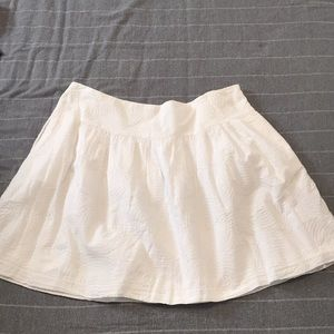 Gap White Skirt